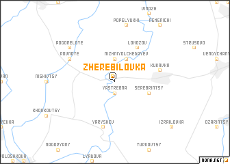 map of Zherebilovka
