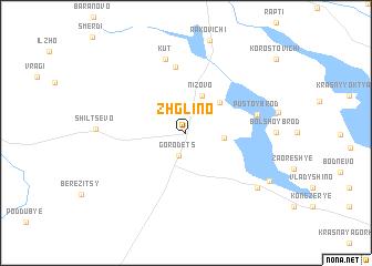 map of Zhglino