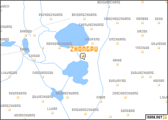 map of Zhongpu