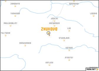 map of Zhukovo