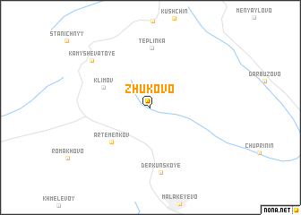 map of Zhukovo