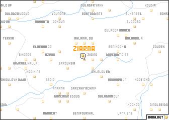 map of Ziarna