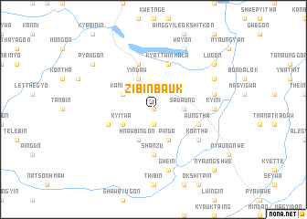 map of Zibinbauk