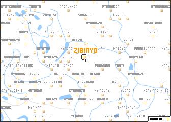 map of Zibinyo