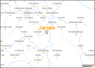 map of Zibyubin