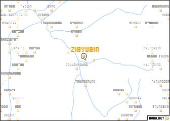 map of Zibyu-bin