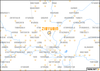 map of Zibyubin