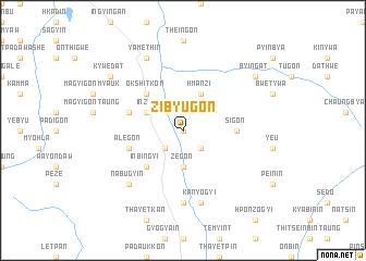 map of Zibyugon