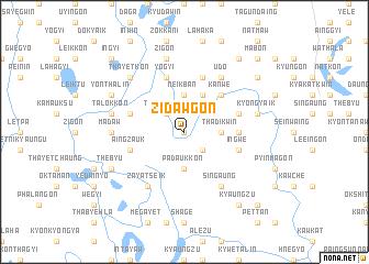 map of Zidawgon