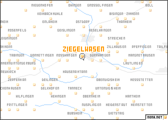 map of Ziegelwasen