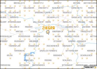 map of Ziegra