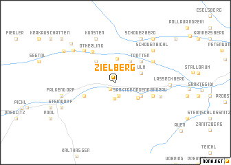 map of Zielberg