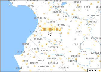 map of Zikxhafaj