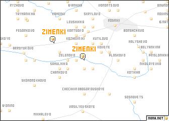map of Zimenki