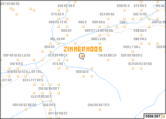 map of Zimmermoos