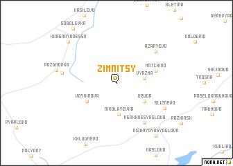 map of Zimnitsy