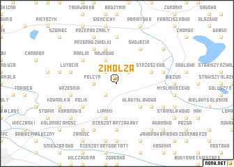 map of Zimolza