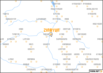map of Zinbyun