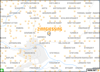 map of Zinngiessing
