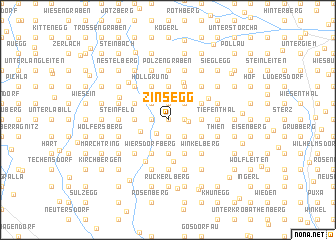 map of Zinsegg