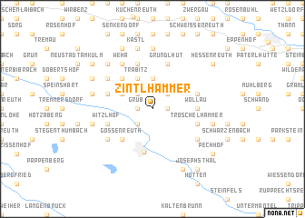 map of Zintlhammer