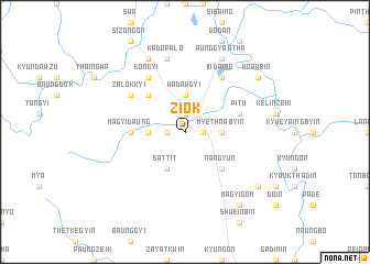 map of Ziok