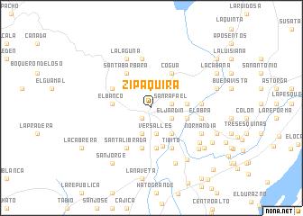 map of Zipaquirá