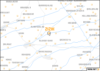 map of Zizik