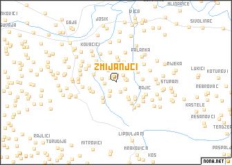 map of Zmijanjci