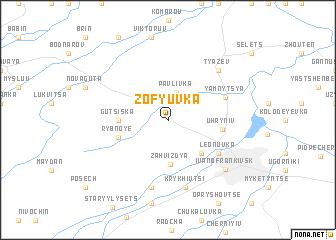 map of Zof'yuvka