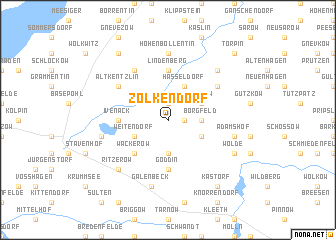 map of Zolkendorf