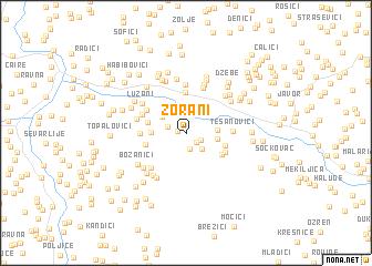 map of Zorani