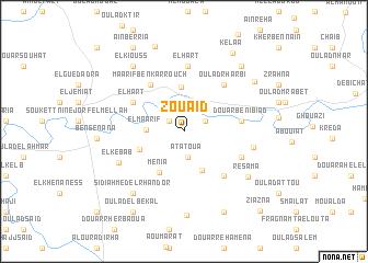 map of Zouaïd