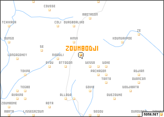 map of Zoumbodji