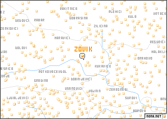 map of Zovik