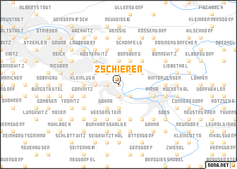 map of Zschieren