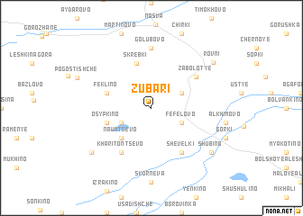 map of Zubari