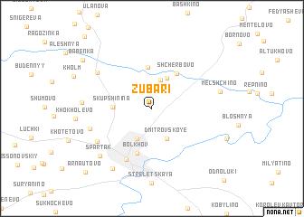 map of Zubari