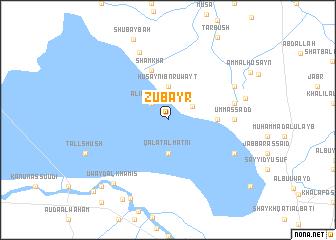 map of Zubayr