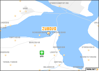 map of Zubovo