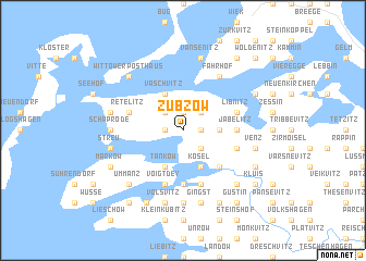 map of Zubzow
