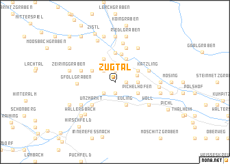 map of Zugtal