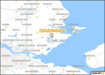 map of Zuiderwoude