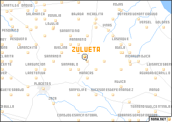 map of Zulueta