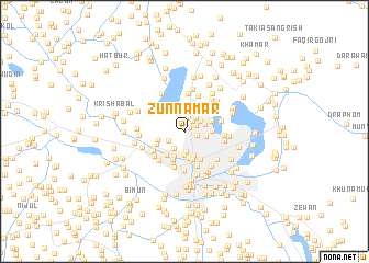 map of Zunnamar
