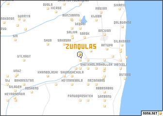 map of Zünqülǝş
