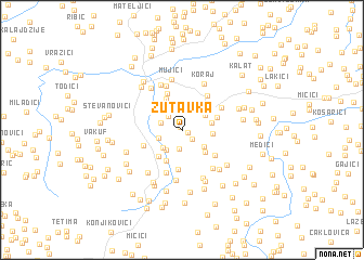 map of Zutavka
