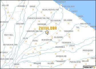 map of Zuxuloba