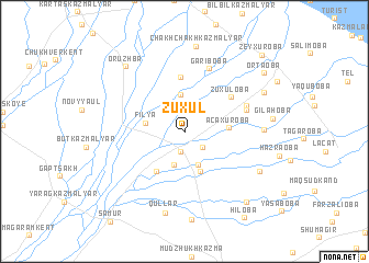 map of Zuxul