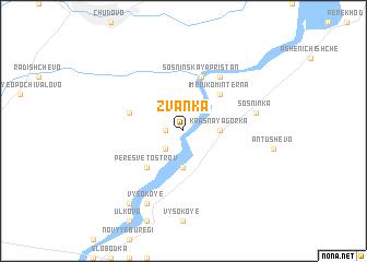 map of Zvanka